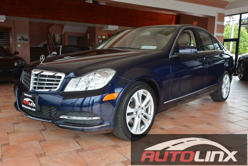 2013 MERCEDES C-Class C250 Sport Sedan 7-Speed Automatic Blue Move quickly Wont last long Tire