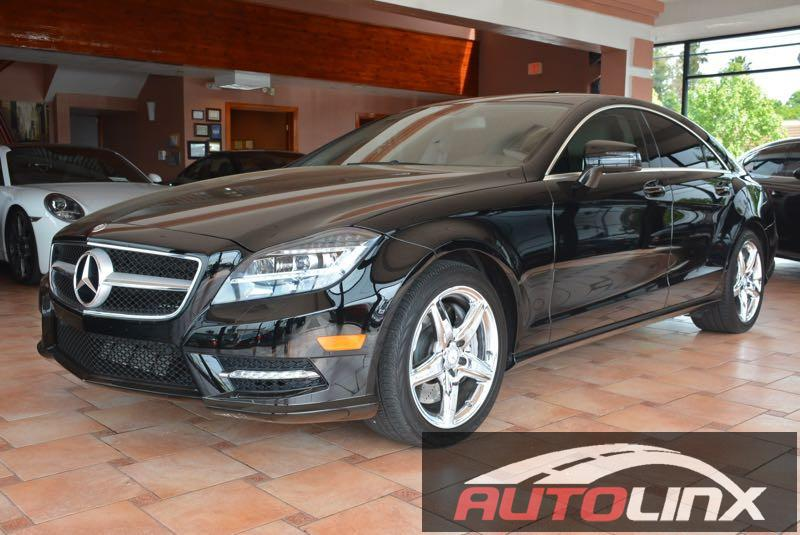 2013 MERCEDES CLS-Class CLS550 4dr Sedan 7 Speed Auto Black Still under factory warranty ATTENT