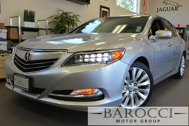 2014 Acura RLX 4dr Sedan wTechnology Package 6 Speed Auto Silver Black Beautiful and loaded wi