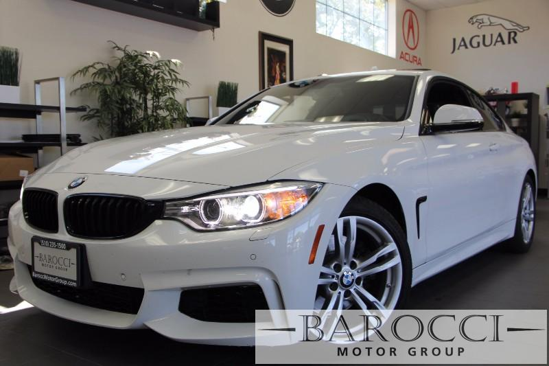 2014 BMW 4 Series 428i Coupe M Sport Package Automatic White Black Beautiful White BMW 428i com