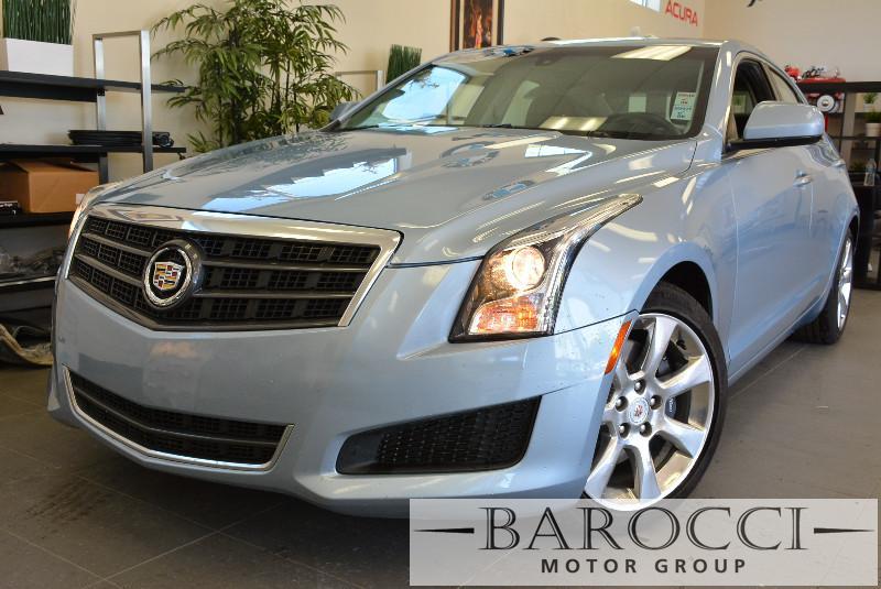 2013 Cadillac ATS 20T 4dr Sedan 6-Speed Automatic Lt Blue Turbocharged Rear Wheel Drive Keyl
