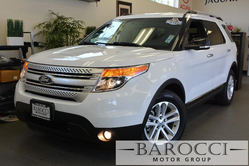 2013 Ford Explorer XLT 4dr SUV 6 Speed Auto White ABS Air Conditioning Alarm Alloy Wheels Cr