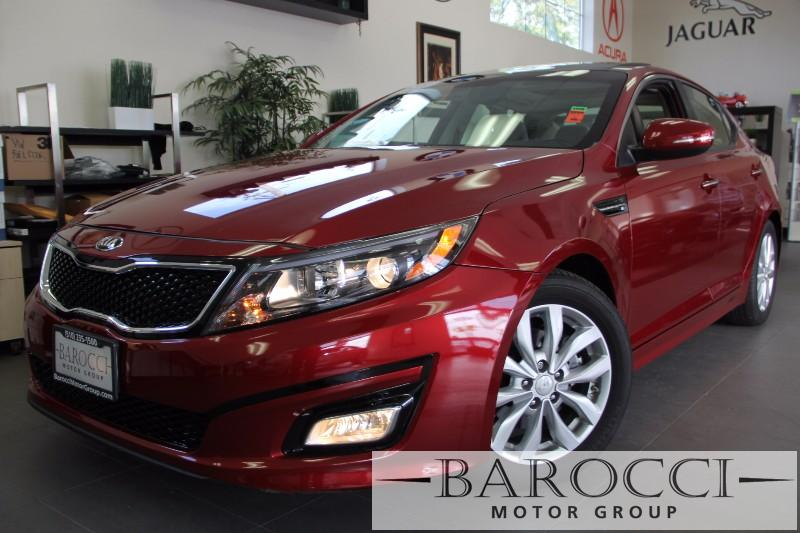 2015 Kia Optima EX 4dr Sedan Automatic Red Beige This Optima Is A Great Luxurious Optima loade