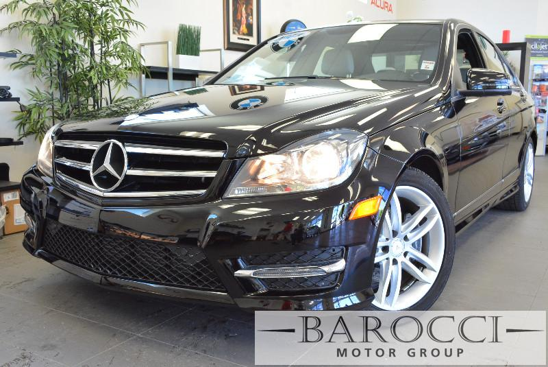 2014 MERCEDES C-Class C250 Sport 4dr Sedan Automatic Black Silver Why buy brand new when you ca