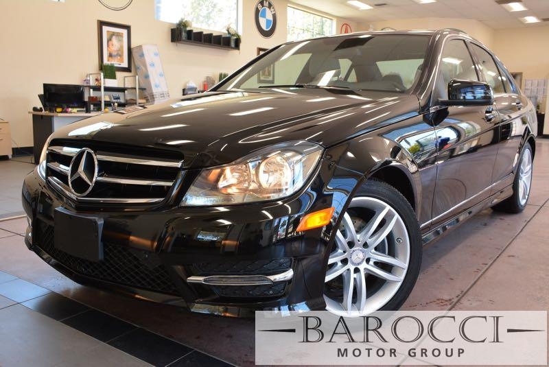 2014 MERCEDES C-Class C250 Sport 4dr Sedan Automatic Black Off White Why buy brand new when you