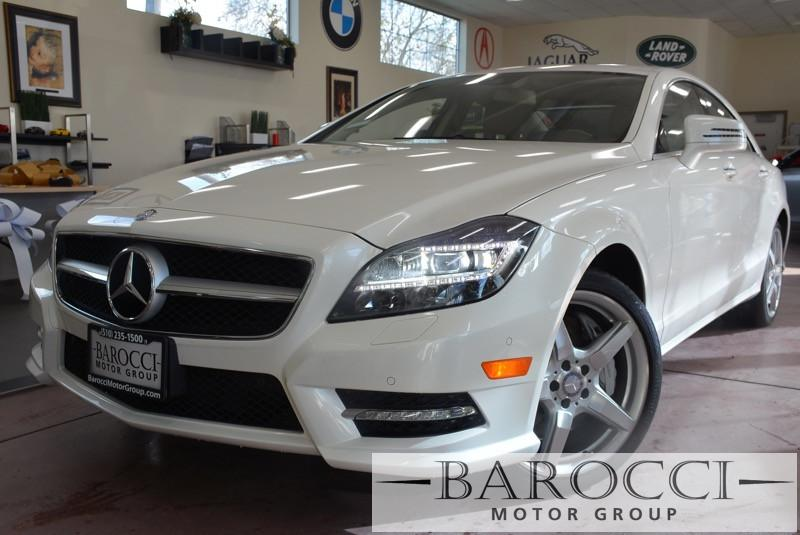 2014 MERCEDES CLS-Class CLS550 4dr Sedan 7 Speed Auto White Tan This is a beautiful CLS that st