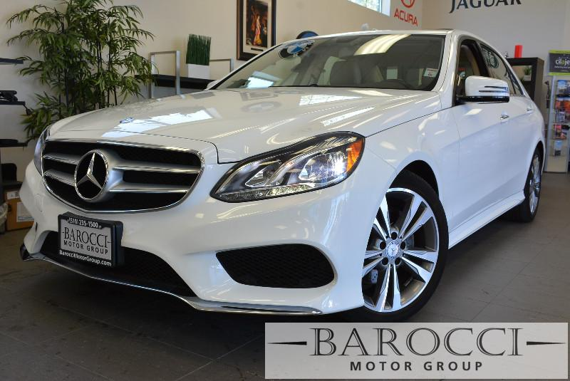 2014 MERCEDES E-Class E350 Sport 4dr Sedan Automatic White Tan Comes with the Premium Harman Ka