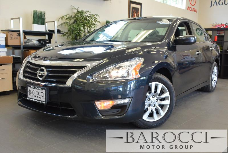2014 Nissan Altima 25 S 4dr Sedan Continuously Variable Transmission  Black Child Safety Door L