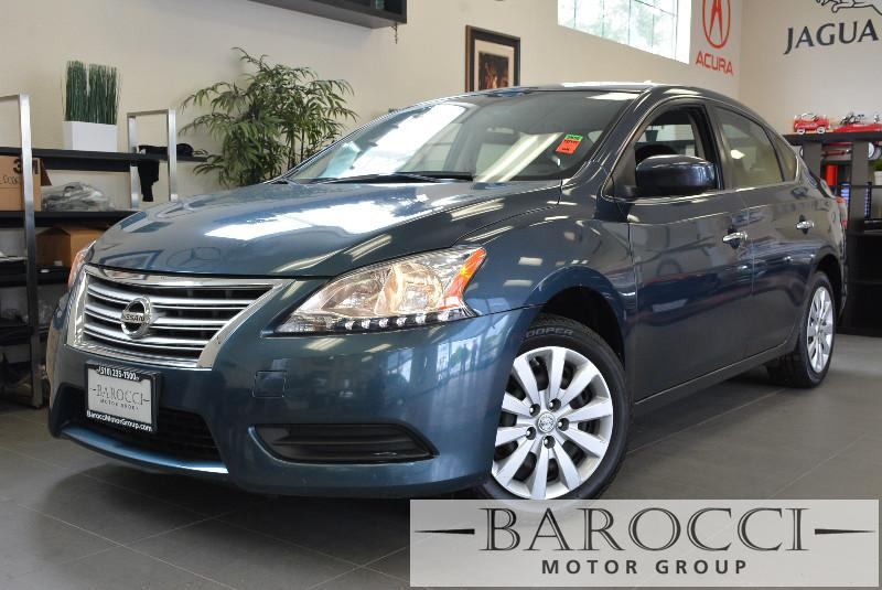 2013 Nissan Sentra SV 4dr Sedan Automatic Blue Charcoal Great deal Auxiliary input port Bluet