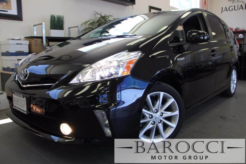 2012 Toyota Prius V FIVE Five 4dr Wagon Automatic Black Gray Air Conditioning Alarm Power Ste