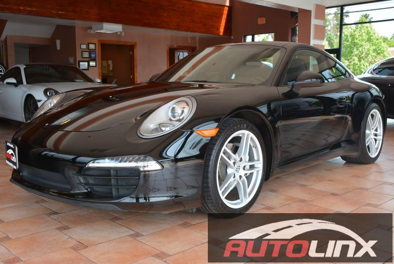 2013 Porsche 911 Coupe Automatic Black Black GPS Nav ATTENTION Previous owner purchased it