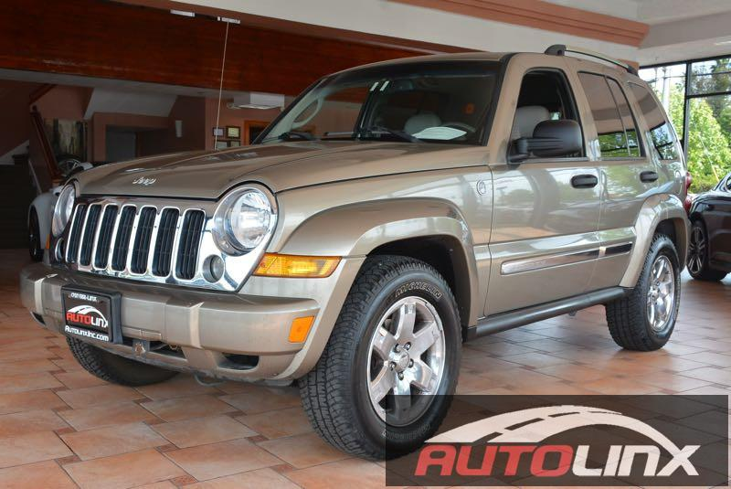 2006 Jeep Liberty Limited 4WD 4-Speed Automatic  Green Tan 4WD Green Machine Call ASAP Thank