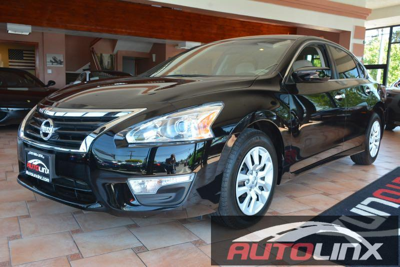 2014 Nissan Altima 25 S Continuously Variable Transmission  Black Champagne CVT with Xtronic