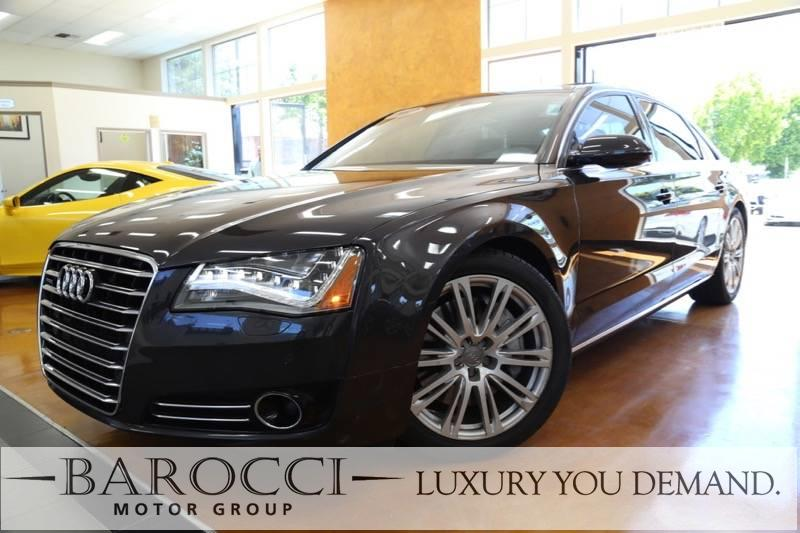 2012 Audi A8 L quattro AWD  4dr Sedan 8 Speed Auto Gray We are excited to offer a striking 2012