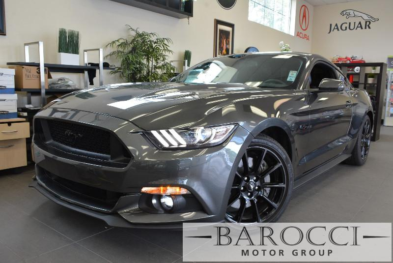 2016 Ford Mustang GT Premium Coupe GT 50 Automatic Gray Black Beautiful 50 Mustang has been