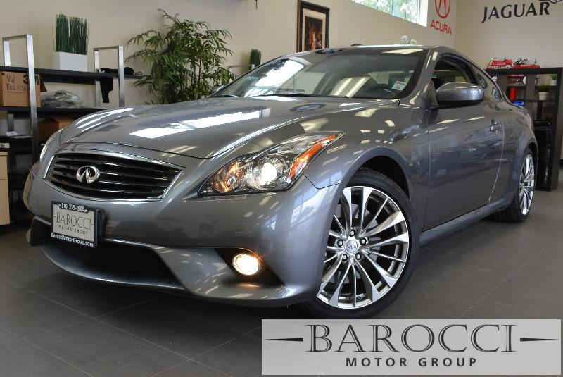 2013 Infiniti G37 S Coupe 2dr Sport Coupe 7 Speed Auto Gray Black This one is in excellent cond