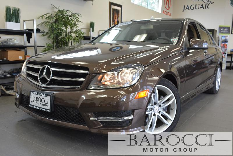 2014 MERCEDES C-Class C250 Luxury 4dr Sedan Automatic Dk Brown Tan Why buy brand new when you