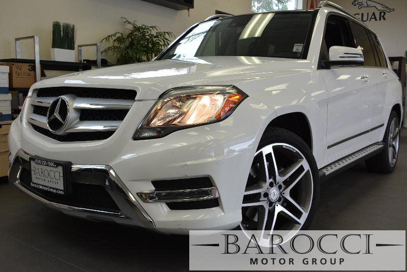 2014 MERCEDES GLK 350  Class 4dr SUV PANORAMIC ROOF Automatic White Black Beautiful white GLK