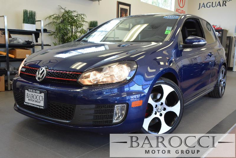 2012 Volkswagen GTI Base PZEV 2dr Hatchback 6M 6 Speed Man Blue Air Conditioning Power Steerin