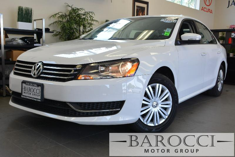2015 Volkswagen Passat S 4dr Sedan 6A 6 Speed Auto White Air Conditioning Alarm Power Steering