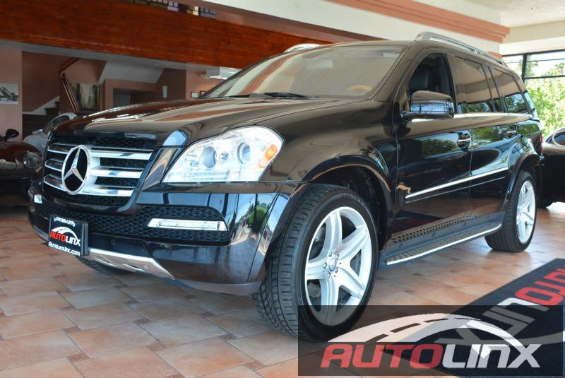 2012 MERCEDES GL-Class GL550 4MATIC 7-Speed Automatic Black Black Bluetooth Hands-Free Portab