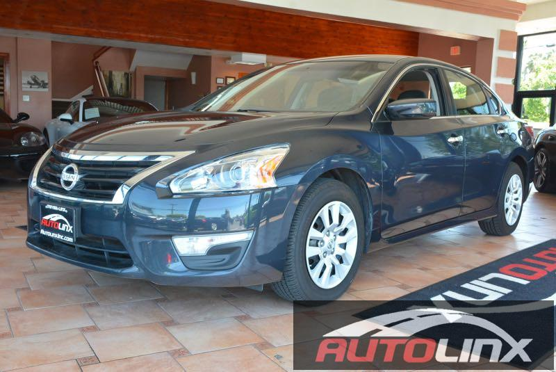 2014 Nissan Altima 25 S Continuously Variable Transmission  Blue Gray CVT with Xtronic Youll