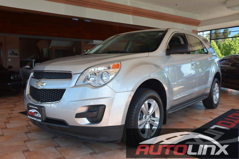 2012 Chevrolet Equinox LS FWD 6-Speed Automatic Gray Black The SUV youve always wanted Switch