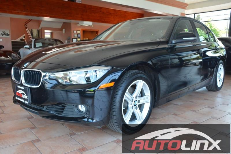 2015 BMW 3-Series 328i Sedan Automatic Black Black Bluetooth Hands-Free Portable Audio Connec