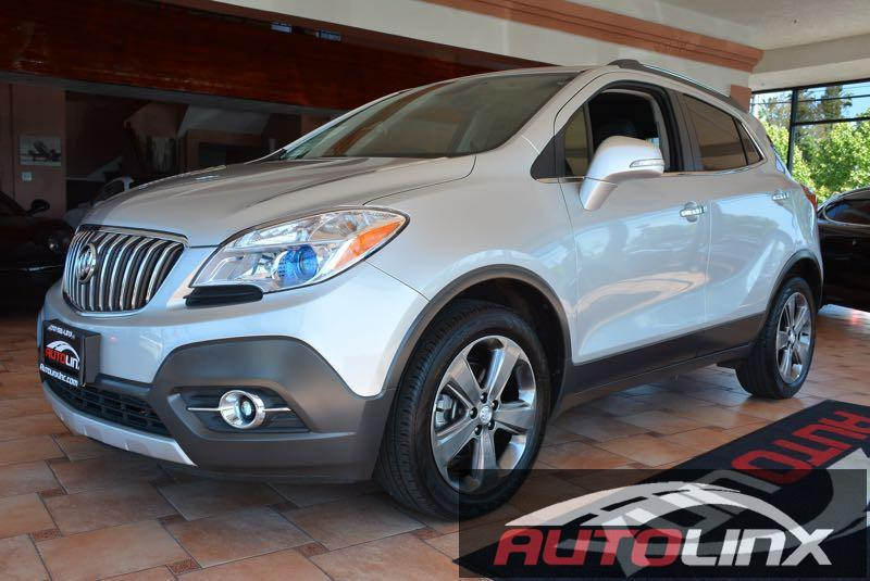 2014 Buick Encore Convenience Automatic 6-Speed Silver Black Turbocharged Silver Bullet Want
