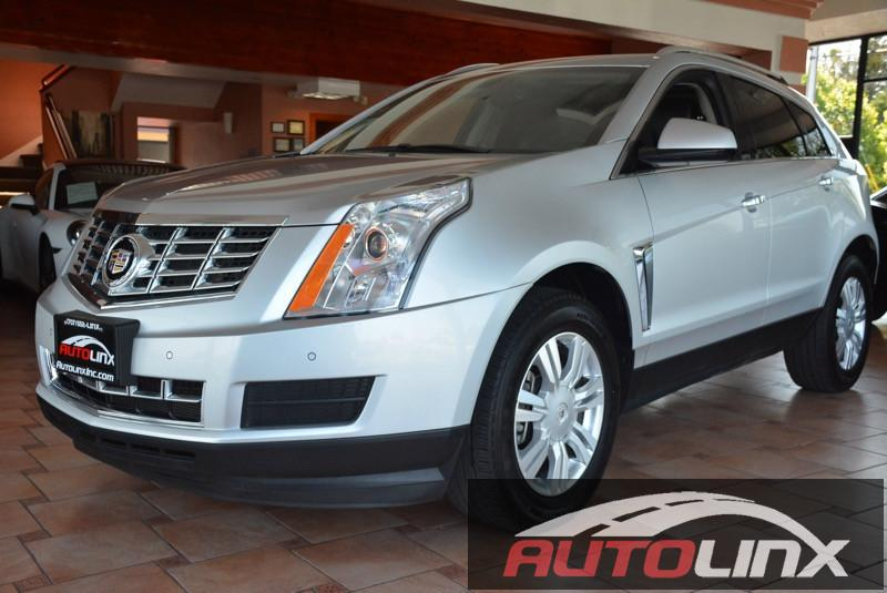 2014 Cadillac SRX Luxury Collection 6-Speed Automatic wManual Shift Silver Black Accident free