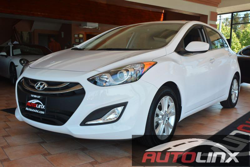 2014 Hyundai Elantra GT AT 6-Speed Automatic White Gray AutoLinx Inc means business Hurry in