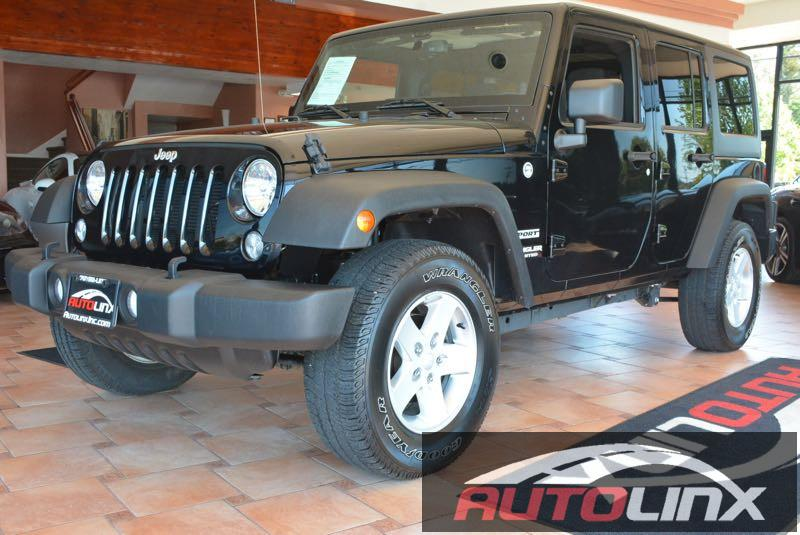 2014 Jeep Wrangler Unlimited Sport 4WD 5-Speed Automatic  Black Black 4WD What are you waiting