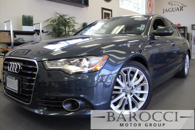 2013 Audi A6 30T quattro Premium AWD  4dr Sedan Automatic Gray Black Beautiful Audi A6 still u