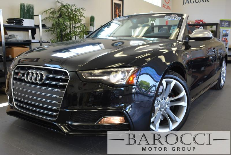2013 Audi S5 30T quattro Premium AWD  2dr Conve Automatic Black Brown Beautiful S5 Convertible