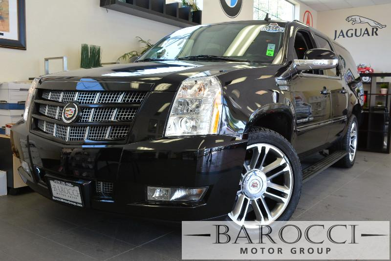 2012 Cadillac Escalade ESV Premium AWD  4dr SUV 6 Speed Auto Black Black Includes third row sea
