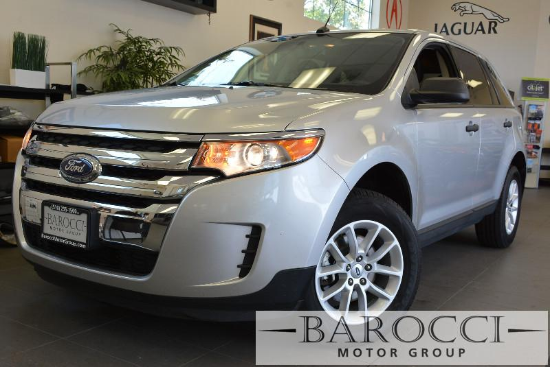 2014 Ford Edge SE 4dr SUV 6 Speed Auto Silver Air Conditioning Alarm Power Steering Power Win