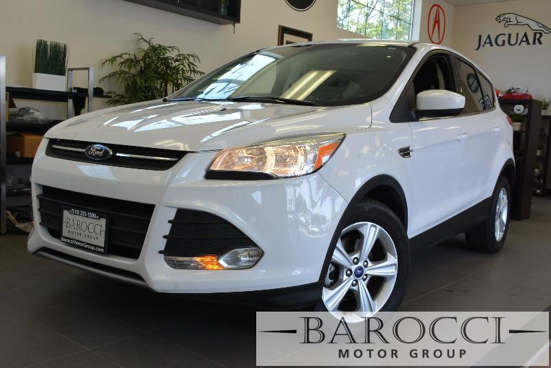 2014 Ford Escape SE 4dr SUV 6 Speed Auto White 1 6 liter inline 4 cylinder DOHC engine 4 Doors