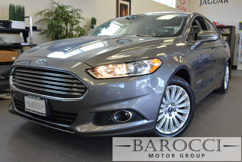 2013 Ford Fusion Hybrid SE 4dr Sedan Automatic Gray Beautiful Hybrid Fusion with the stunning co