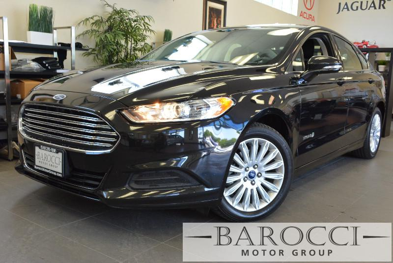 2014 Ford Fusion Hybrid SE 4dr Sedan Automatic Black Air Conditioning Alarm Power Steering Po