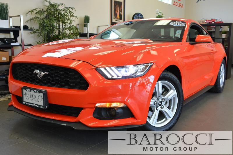 2015 Ford Mustang EcoBoost 2dr Fastback Automatic Orange Black ABS Air Conditioning Alarm Al