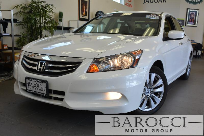 2012 Honda Accord EX-L V6 4dr Sedan 5 Speed Auto White ABS Air Conditioning Alarm Alloy Wheel