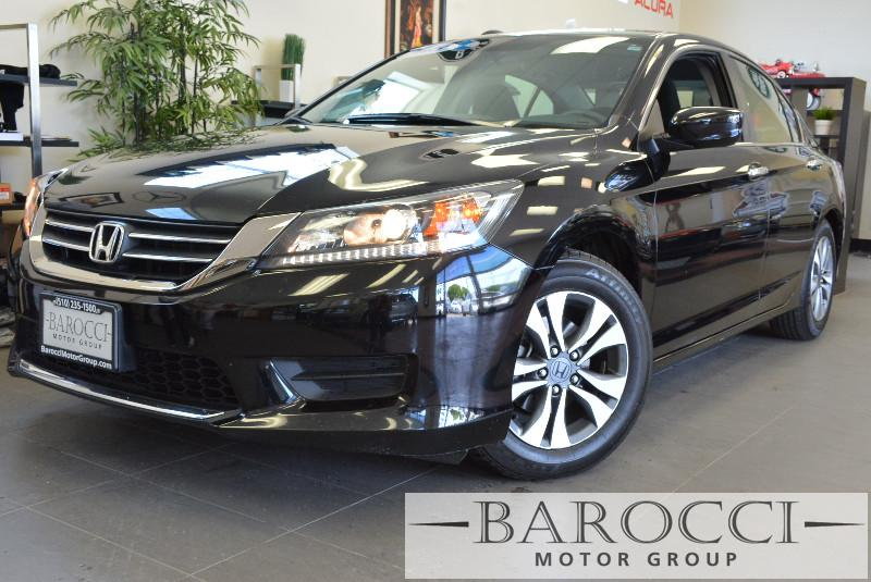 2013 Honda Accord LX 4dr Sedan CVT Automatic Black Black Child Safety Door Locks Power Door Lo