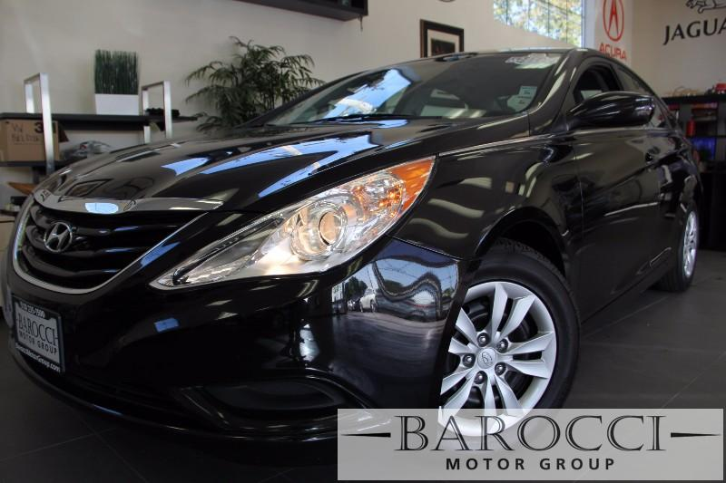 2013 Hyundai Sonata GLS 4dr Sedan Automatic Black Gray Features include Bluetooth phone connect
