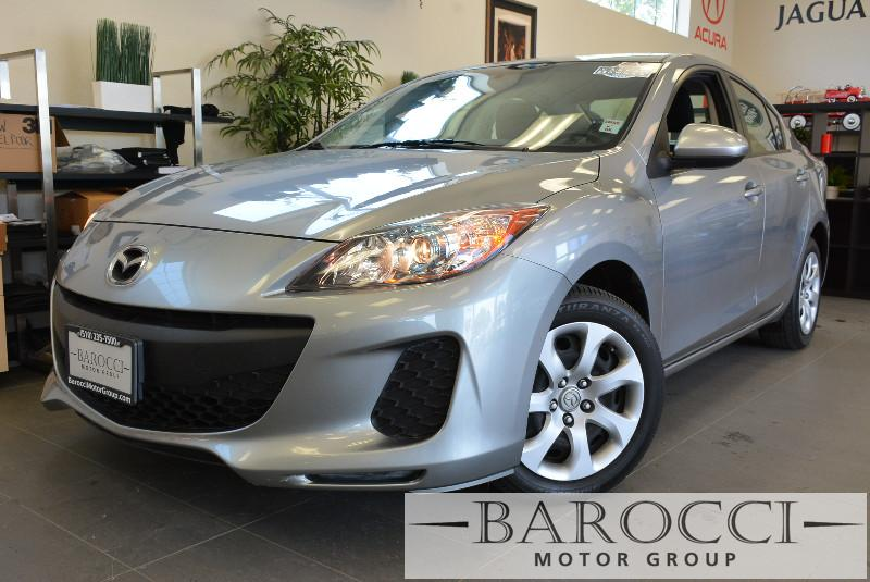 2013 Mazda MAZDA3 i Sport 4dr Sedan 6A 6 Speed Auto Silver Child Safety Door Locks Power Door L
