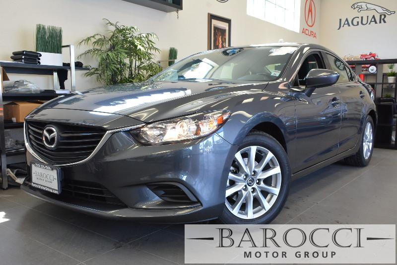 2014 Mazda MAZDA6 i Sport 4dr Sedan Automatic Gray Black This is a beautiful vehicle in great c