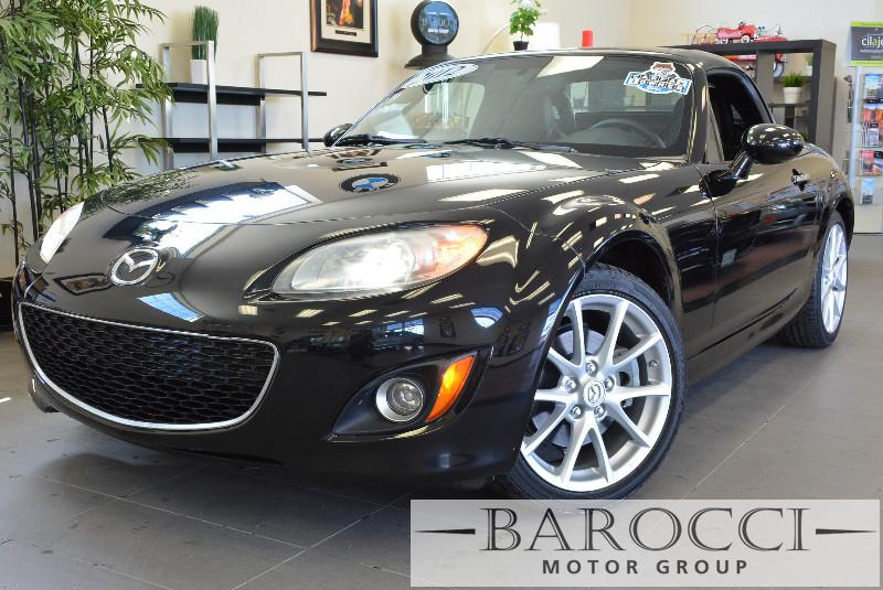 2012 Mazda MX-5 Miata Grand Touring 2dr Convertible 6 Speed Manual Black Black Power Door Locks
