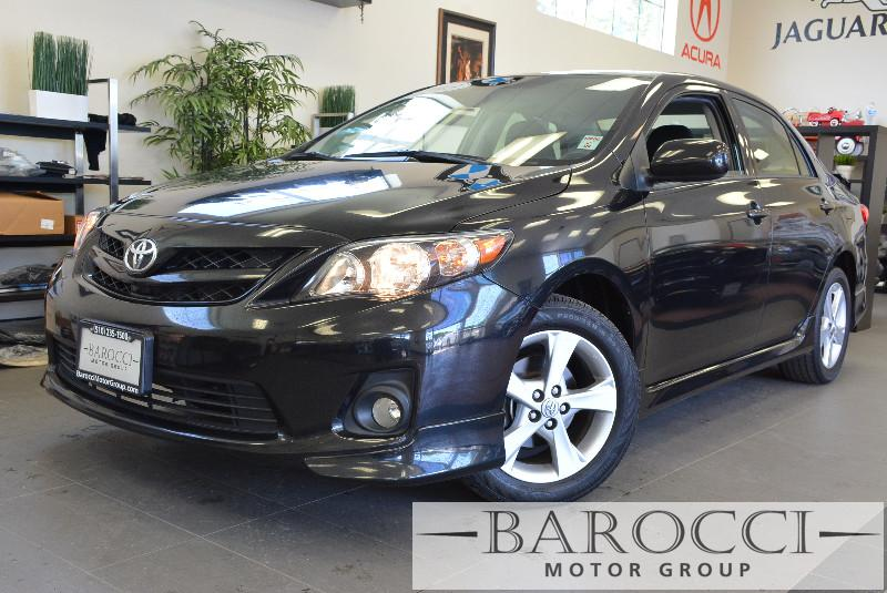 2013 Toyota Corolla S 4dr Sedan 4A 4 Speed Auto Black Child Safety Door Locks Vehicle Anti-Thef
