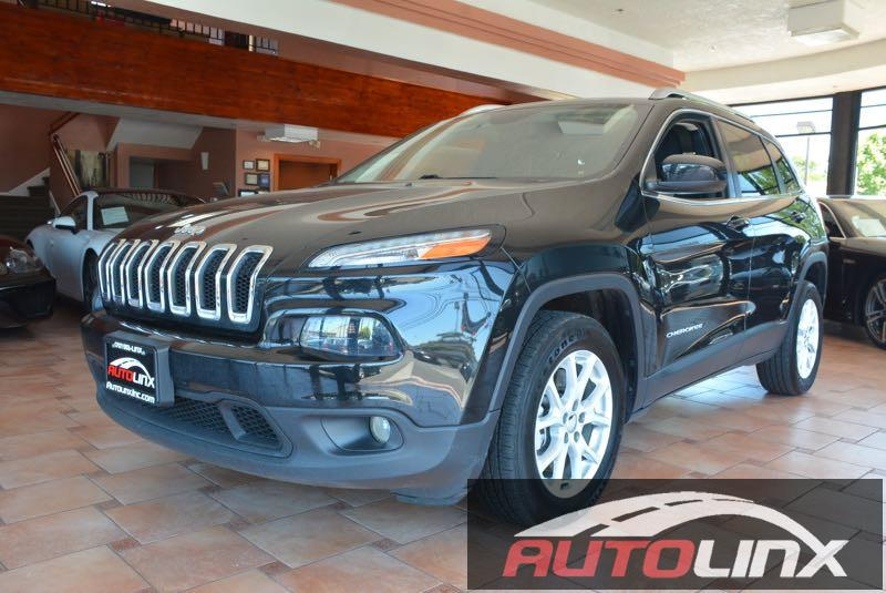 2014 Jeep Cherokee Latitude FWD 9-Speed Automatic Black Black Youll NEVER pay too much at AutoL