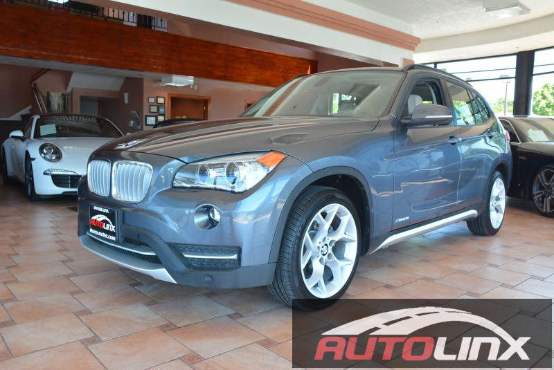 2013 BMW X1 xDrive28i 8-Speed Automatic Gray Black Turbo Navigation Your quest for a gently u