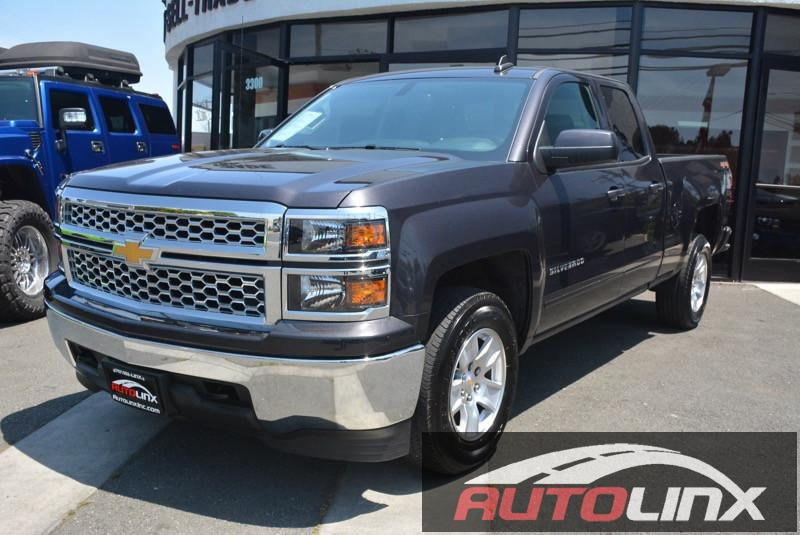 2015 Chevrolet Silverado 1500 LT 6-Speed Automatic Gray Black 6-Speed Automatic Electronic with